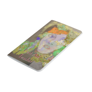 Mini Notes - Flower Girl Abstract Design Journal
