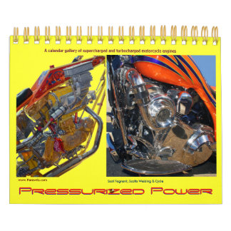 Mini size Turbo'd & S-Charged Motorcycle engines Calendars