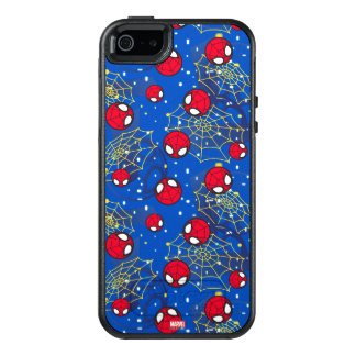 Mini Spider-Man and Web Pattern OtterBox iPhone 5/5s/SE Case