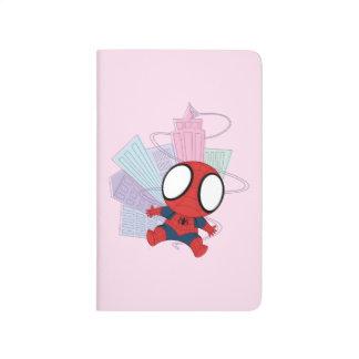 Mini Spider-Man & City Graphic Journal