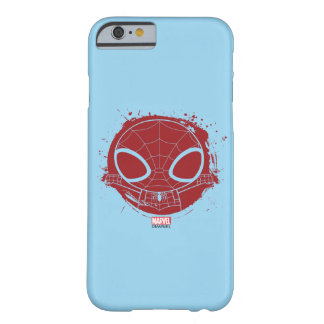 Mini Spider-Man Grunge Graphic Barely There iPhone 6 Case