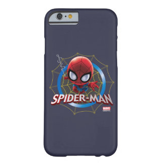Mini Stylized Spider-Man in Web Barely There iPhone 6 Case