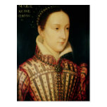 Miniature of Mary Queen of Scots, c.1560 Postcard