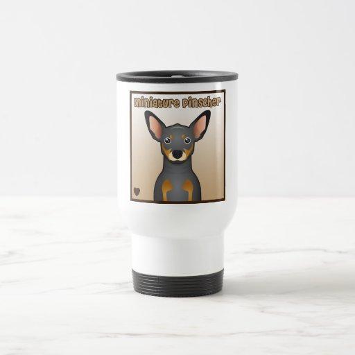 Miniature Pinscher Cartoon Mugs