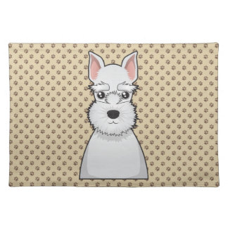 Miniature Schnauzer Cartoon Placemat