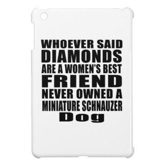 MINIATURE SCHNAUZER DOG BEST FRIEND DESIGNS iPad MINI CASE