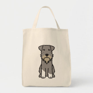 Miniature Schnauzer Dog Cartoon