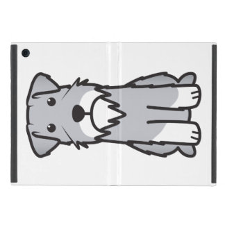 Miniature Schnauzer Dog Cartoon Case For iPad Mini