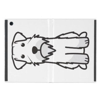 Miniature Schnauzer Dog Cartoon Case For iPad Mini