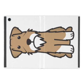 Miniature Schnauzer Dog Cartoon Cover For iPad Mini
