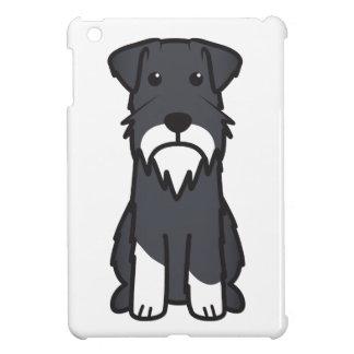 Miniature Schnauzer Dog Cartoon Cover For The iPad Mini