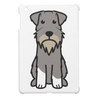 Miniature Schnauzer Dog Cartoon iPad Mini Case