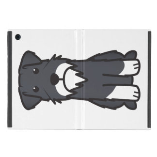 Miniature Schnauzer Dog Cartoon iPad Mini Cover