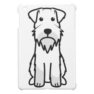 Miniature Schnauzer Dog Cartoon iPad Mini Covers