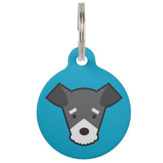 Miniature Schnauzer Dog Tag Pet ID Tag