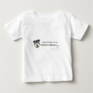 miniature schnauzer - more breeds baby T-Shirt