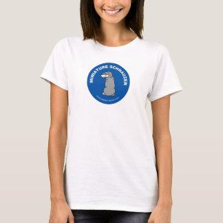 Miniature Schnauzer Women's T-shirt (White)