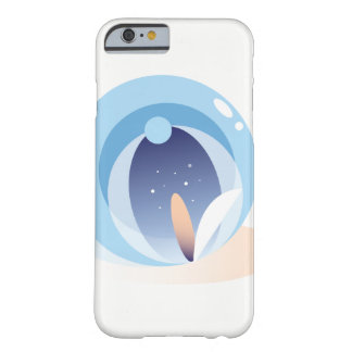 Minimal Abstract Water Lotus iPhone 6/6s Case