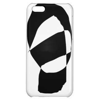 Minimal Black and White iPhone 5C Covers