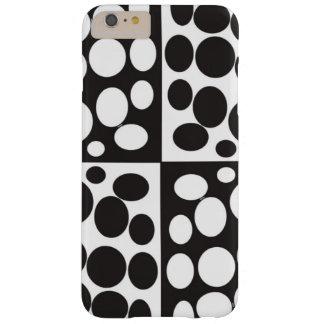 minimal black and white iphone case