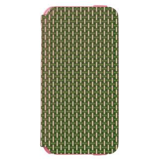 "Minimal Geometric Pattern - Japan ""Bamboo Forest"" Incipio Watson™ iPhone 6 Wallet Case"