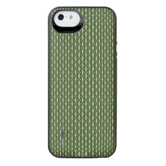 """Minimal Geometric Pattern - Japan """"Bamboo Forest"""" iPhone SE/5/5s Battery Case"""