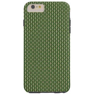 "Minimal Geometric Pattern - Japan ""Bamboo Forest"" Tough iPhone 6 Plus Case"
