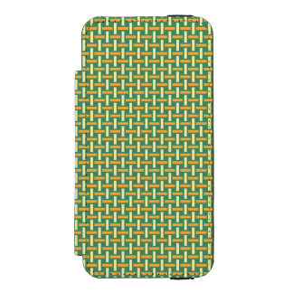 "Minimal Geometric Pattern - Japan ""Green Pastures"" Incipio Watson™ iPhone 5 Wallet Case"