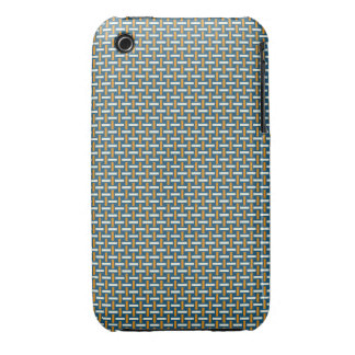"Minimal Geometric Pattern - Japan ""Hazy Sunshine"" iPhone 3 Cover"