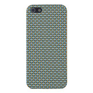 "Minimal Geometric Pattern - Japan ""Hazy Sunshine"" iPhone 5/5S Covers"