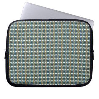 "Minimal Geometric Pattern - Japan ""Hazy Sunshine"" Laptop Sleeves"