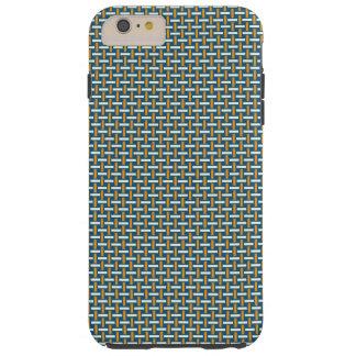 "Minimal Geometric Pattern - Japan ""Hazy Sunshine"" Tough iPhone 6 Plus Case"