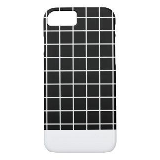Minimal Grid B&W iPhone 8/7 Case