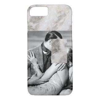 Minimal Vintage Film Black & White Marble iPhone 8/7 Case