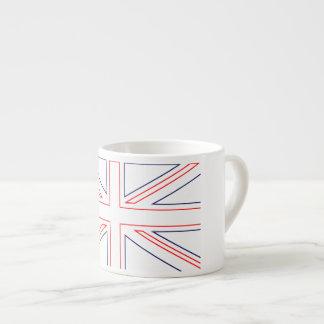 Minimalist British Flag Espresso Cup