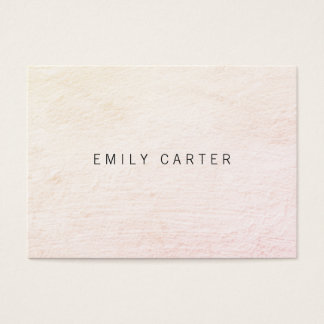 Minimalist Distressed Business Card