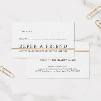 1000 refer a friend business cards and refer a friend for Refer a friend business cards