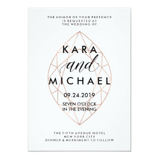 Shop Zazzle's selection of modern wedding invitations for your special day!