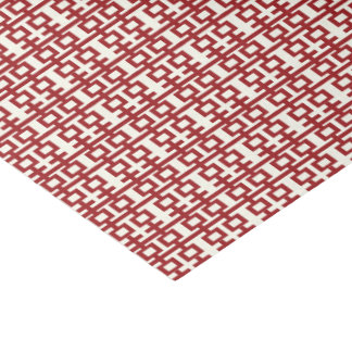 Minimalist Red Double Happiness Chinese Wedding Tissue Paper