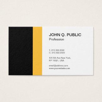 Minimalist Simple Modern Professional Elegant Business Card