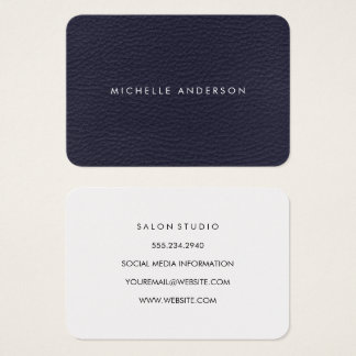 Minimalist Texture Business Card