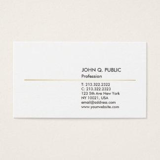 Minimalistic Modern Professional Elegant Graphic Business Card