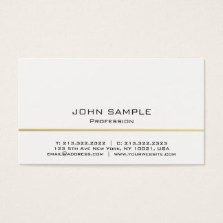 228 event dj business cards and event dj business card templates minimalistic professional modern white and gold business card reheart Image collections