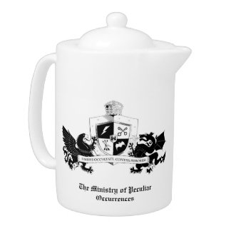 Ministry of Peculiar Occurrences teapot