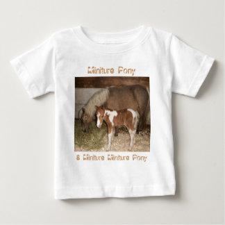 Miniture Pony and Baby Baby T-Shirt