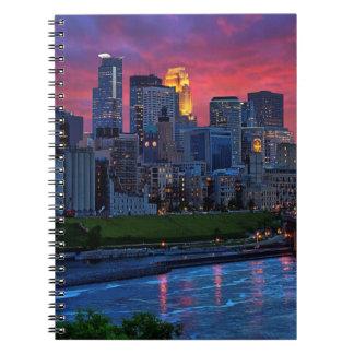 Minneapolis Eye Candy Spiral Notebook