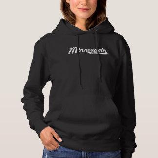 Minneapolis Minnesota Vintage Logo Hoodie