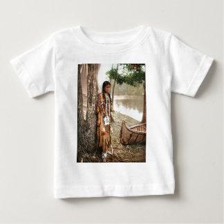 Minnehaha 1897 Native American Hiawatha Vintage Baby T-Shirt