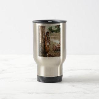 Minnehaha 1897 Native American Hiawatha Vintage Mug