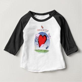minnesota head heart, tony fernandes baby T-Shirt